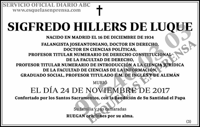 Sigfredo Hillers de Luque